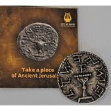 Moneda Del Medio Shekel Del Templo De Jerusalem Arqueología