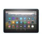 Tablet Con Funda Amazon Fire Hd 8 2020 8  32gb Twilight Blue Con Memoria Ram 2gb