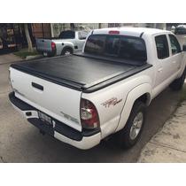 Back Cover De Pick Up Tacoma 2016 Tapa Enrollable Aluminio