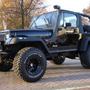 Snorkel 4x4 Europeo Para Jeep Wrangler Yj