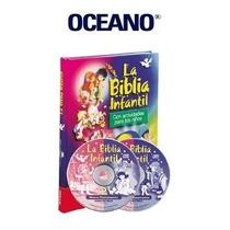 Biblia Infantil Edit. Oceano 1 Tomo + 2 Cd
