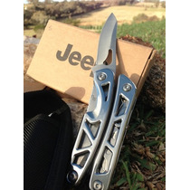Jeep Multi Herramienta Army Survival Knife Luz De Led Dual.