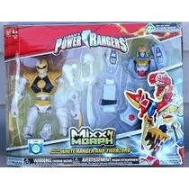 Power Ranger - Mixxn Morph Mm White Ranger And Tigerzod