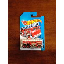 Carrito De Bomberos Five Alarm 1/64 Hot Wheels