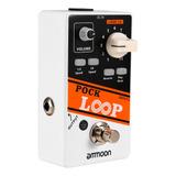 Pedal De Guitarra Efecto Looper Ammoon Pock Loop 11 Loopers