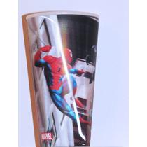 Spider-man Vaso 3d Con Movimiento (lenticular) Importado