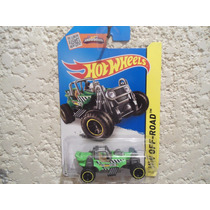 Mountain Mauler (verde) - Hot Wheels - 1/64