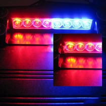 Tb Luces Policiacas Simkapro 8 Led Visor Dashboard