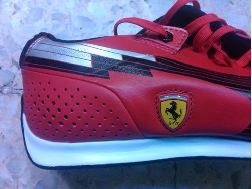 Original Tenis Puma Evospeed 1.1 Ferrari Choclo Red   Black. Precio    1799  Ver en MercadoLibre b52422307