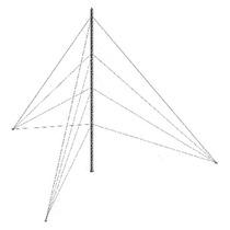 Kit De Torre Arriostrada De Piso De 30 M Con Tramo Stz30