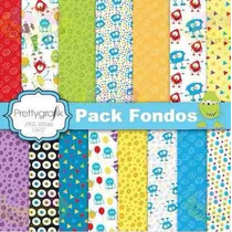 Kit Imprimible Fondos Diamante Para Kits Decoupage Scrapbook