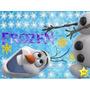 Kit Imprimible Pelicula Frozen, Invitaciones Y Cajitas