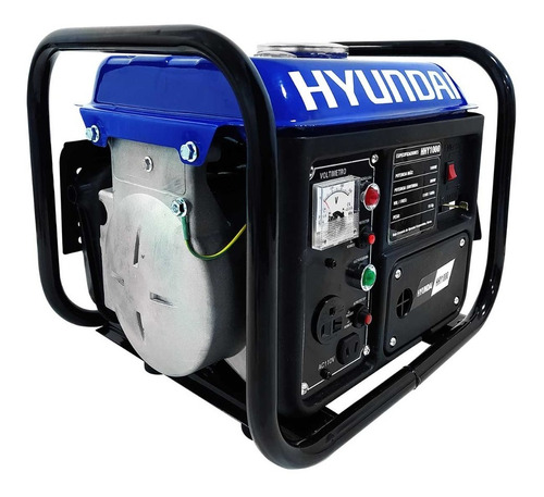 Generador Portátil A Gasolina Hyundai Hhy1000 2 Hp 3600 Rpm