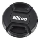 Tapa De 52mm Nikon Para Lente 18-55 - Envío Gratis