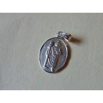 Medalla De San Judas Tadeo Plata 925