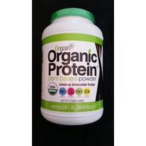 Marca Orgain Proteína Orgánica Creamy Choclate Fudge Sabrosa