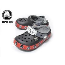 Crocs Star Wars Darth Vader Sandalias Pantuflas Brillan En L