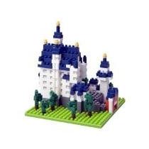 Nanoblocks - Monumentos Nbh - Castillo Aleman Neuschwanstein