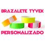 100 Brazaletes Tyvek Pulseras Impresas Fiestas Accesos Hotel