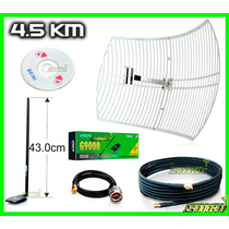 Antena Rejilla + Kasens G9000 + Pigtail + Cable Sma + Beini
