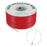 Rollo Kynar Original Cable Calibre 30 Awg 305m Rojo X360