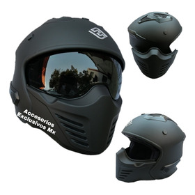 Casco Abatible Deportivo Modular Cafe Racer Fassed Trooper