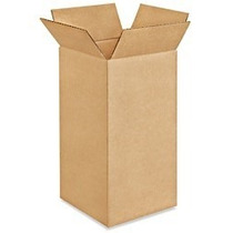 Cajas De Carton 4x4x8 Paquete Con 10