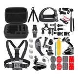 Combo Kit Accesorios Camara Sjcam Gopro 7 6 / 5 / 4 / 3 / 2