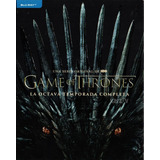 Game Of Thrones Octava Temporada 8 Ocho Blu-ray
