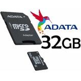 Memoria Micro Sd 32gb Adata  Rapida Nueva En Caja