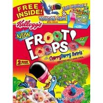 Froot Loops Cereal Dos Bolsa Valor Caja 43,6 Oz Club Paquete