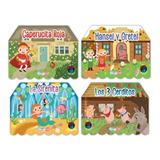 Set De 4 Libros Interactivos Pop Up / Cuentos Clasicos