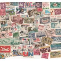 L475-estados Unidos 70 Sellos Usados
