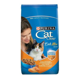 Alimento Cat Chow Delimix Para Gato Adulto Sabor Mix En Bolsa De 1.5kg
