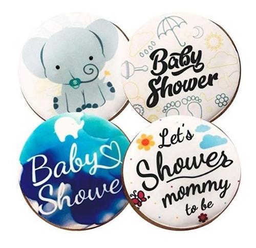 24 Galletas Decoradas Baby Shower Niño En Venta En Lomas De