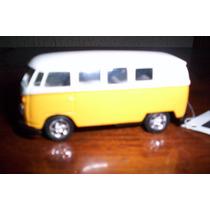 Combi Bus 1963 A Escala 1:53 Marca Welly Vw
