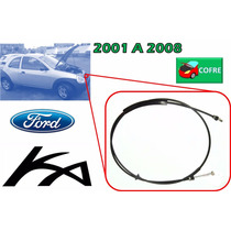 01-08 Ford Ka Chicote Cerradura De Cofre Sin Jaladera