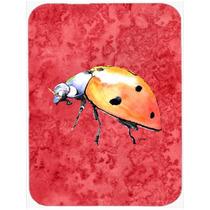 Señora Bug En La Red De Vidrio Tabla De Cortar Grande