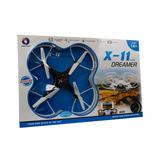 Drone Cámara Trasmite En Vivo 4 Hélices Recargable Giro 360