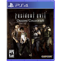 ¡ Resident Evil Origins Collection Para Ps4 En Whole Games !