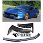 Lip Bumper Plástico Corvette Stingray C7 Z51 Z06 2014 2017