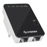 Access Point, Repetidor Steren Com-818 Negro 110v 1 Unidad