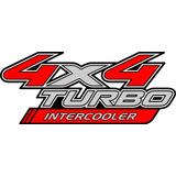 Calcomanías Toyota Hilux 4x4 Turbo Intercooler, Costados.