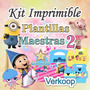 Kit Imprimible Plantillas Maestras 2 - Diamante Empresarial