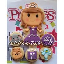 Galletas Decoradas Princesa Sofia Mamuts Bubulubus