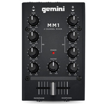 Mezcladora Dos Canales Estereo Compacto Portatil Mm1 Gemini