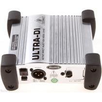 Batería Behringer Ultra Di-100 Caja Directa Activa 1 Canal