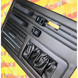 Kit Tapas Puertas Vocho Sedan Vw Tipo Original Negro