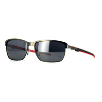 Oakley Ferrari Tinfoil Carbon Black Iridium Polarized 601806