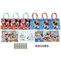 Disney Mickey Mouse And Friends Party Favor Set - 6 Paquetes